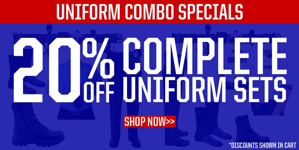 Uniform Combo Specials