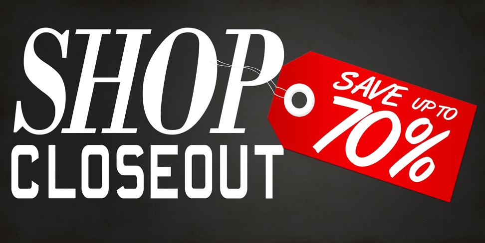 Closeout Sales