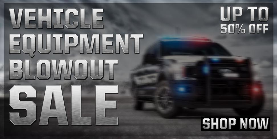 Vehicle Equipment Blowout Sale