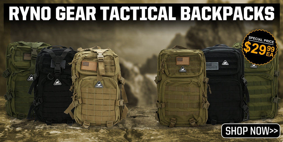 Ryno Gear Tactical Backpacks