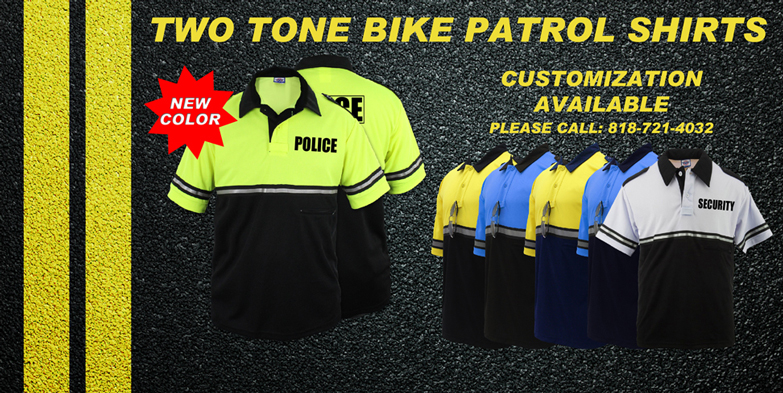 Two Tone Bike Shirts