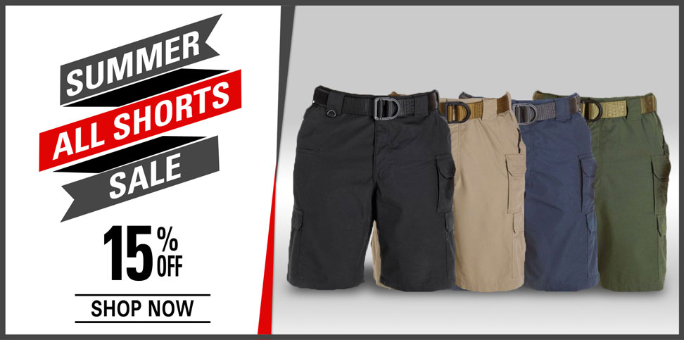 15% Off Shorts