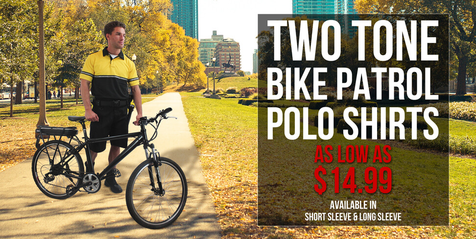 Two Tone Bike Patrol Polo Shirts
