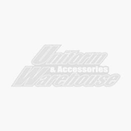 EZ Adjust Men's Leather Belt with Gloss Black Square Buckle