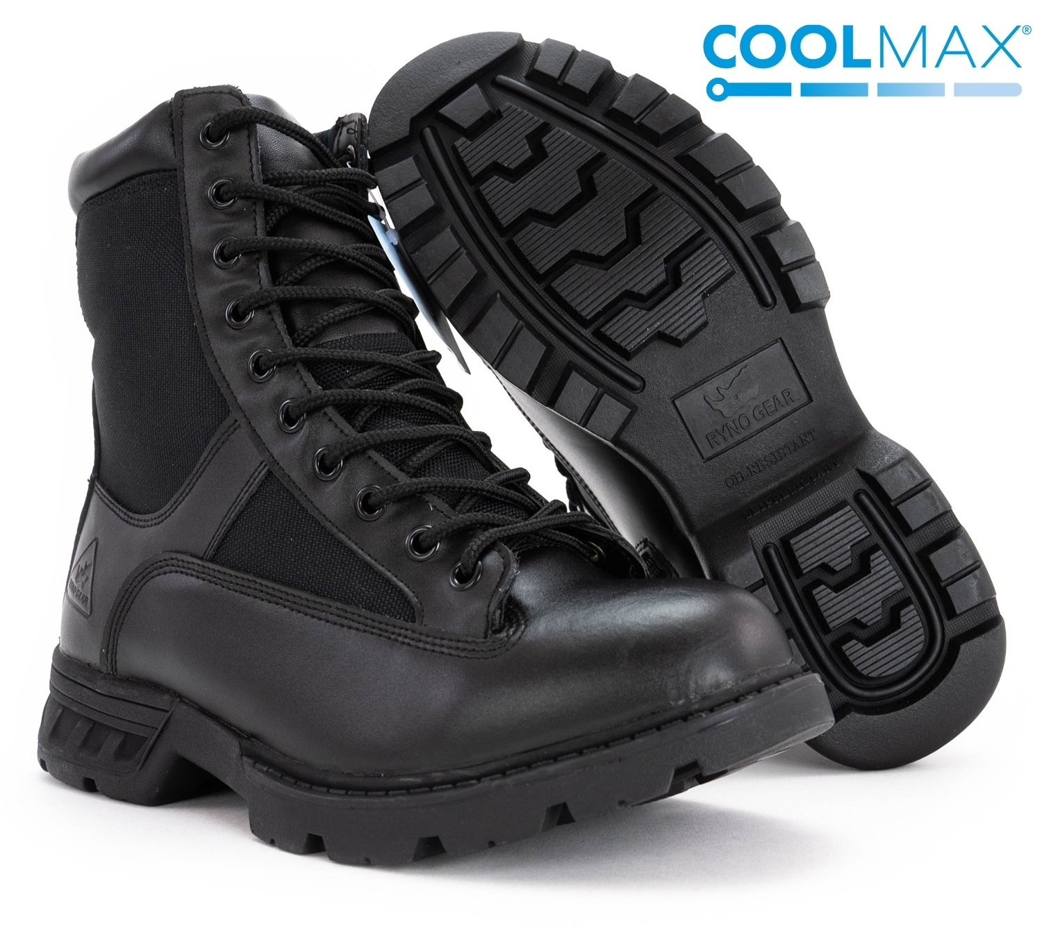 Ryno Gear Ry-Tac Peak Coolmax Tactical Boots