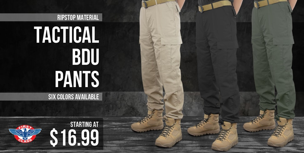 First Class Tactical BDU Pants