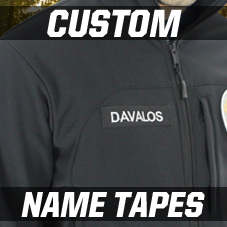 Custom Fabric Name Tapes