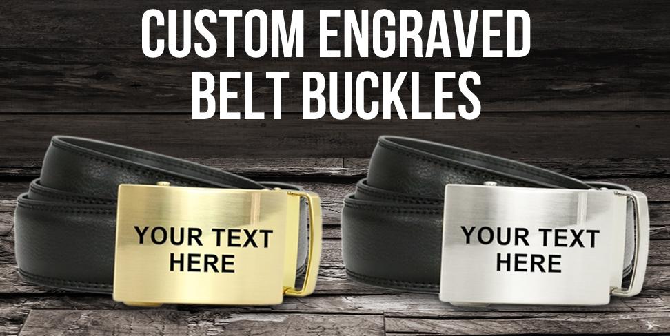 Engraved Belt Buckles