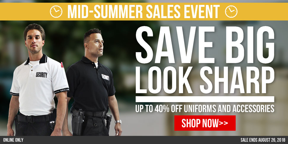 Mid-Summer Sales Event at Uniform Warehouse