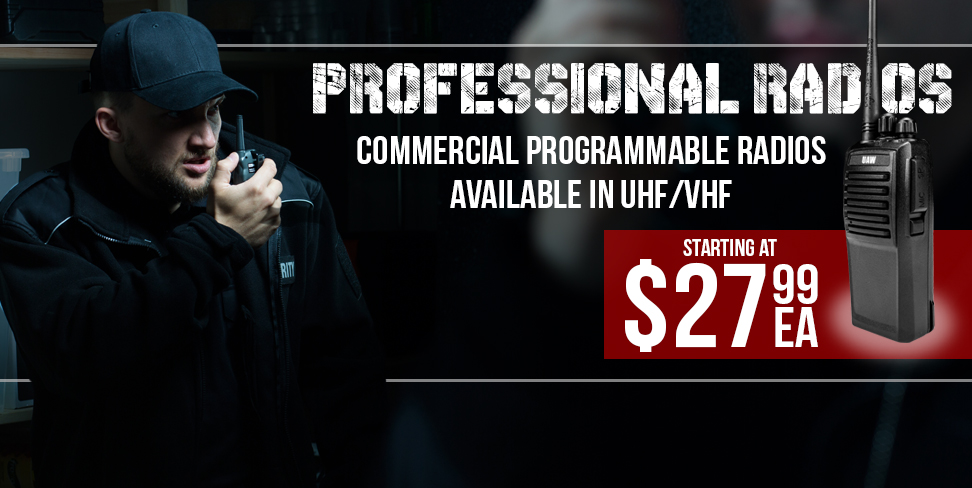 Professional Commercial Programmable Radios