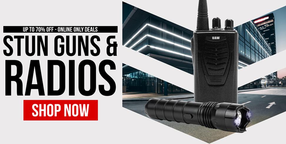 Stun Gun and Radio Special