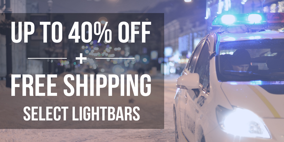 Vehicle Lightbar Sale