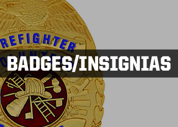 Fire/EMS Badges and Insignias