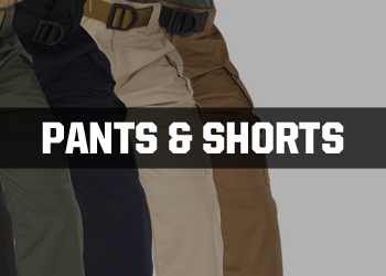 Security Pants and Shorts