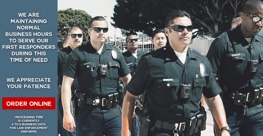 LAPD BDU Uniforms
