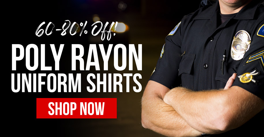 60-80% Off Poly Rayon Uniform Shirts
