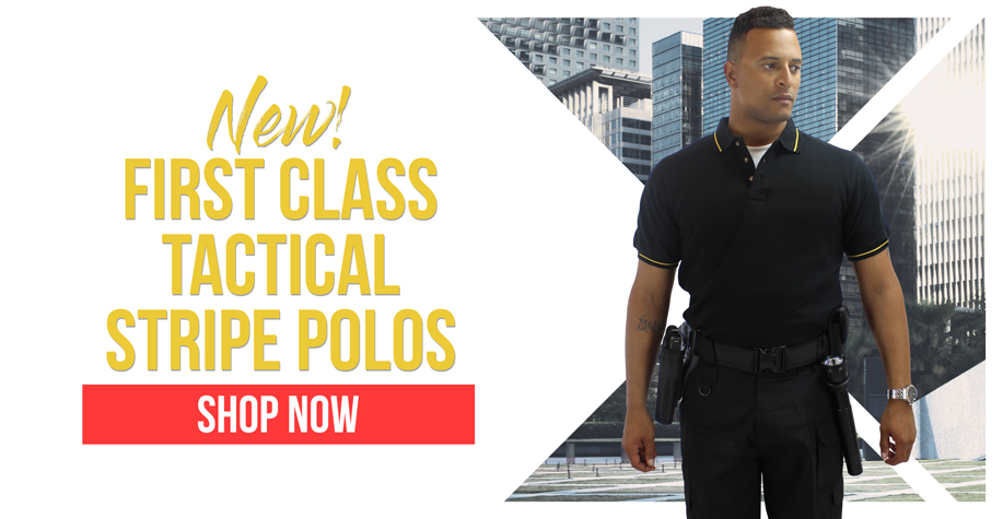 Polycotton Tactical Stripe Polos