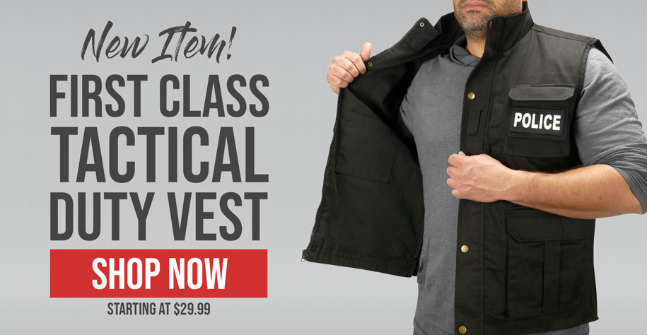 First Class Tactical Duty Vest