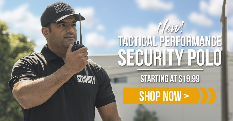 First Class Tactical Performance Security Polo Shirt